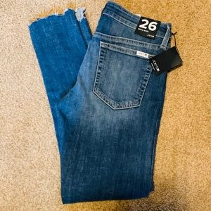Joe's Jeans Skinny Ankle Crop Canal Size 26